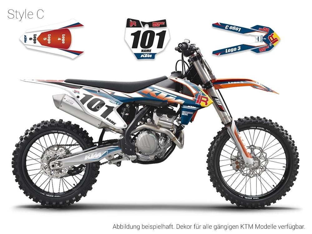 Independent Racing Shop Dekor Ktm Factory1