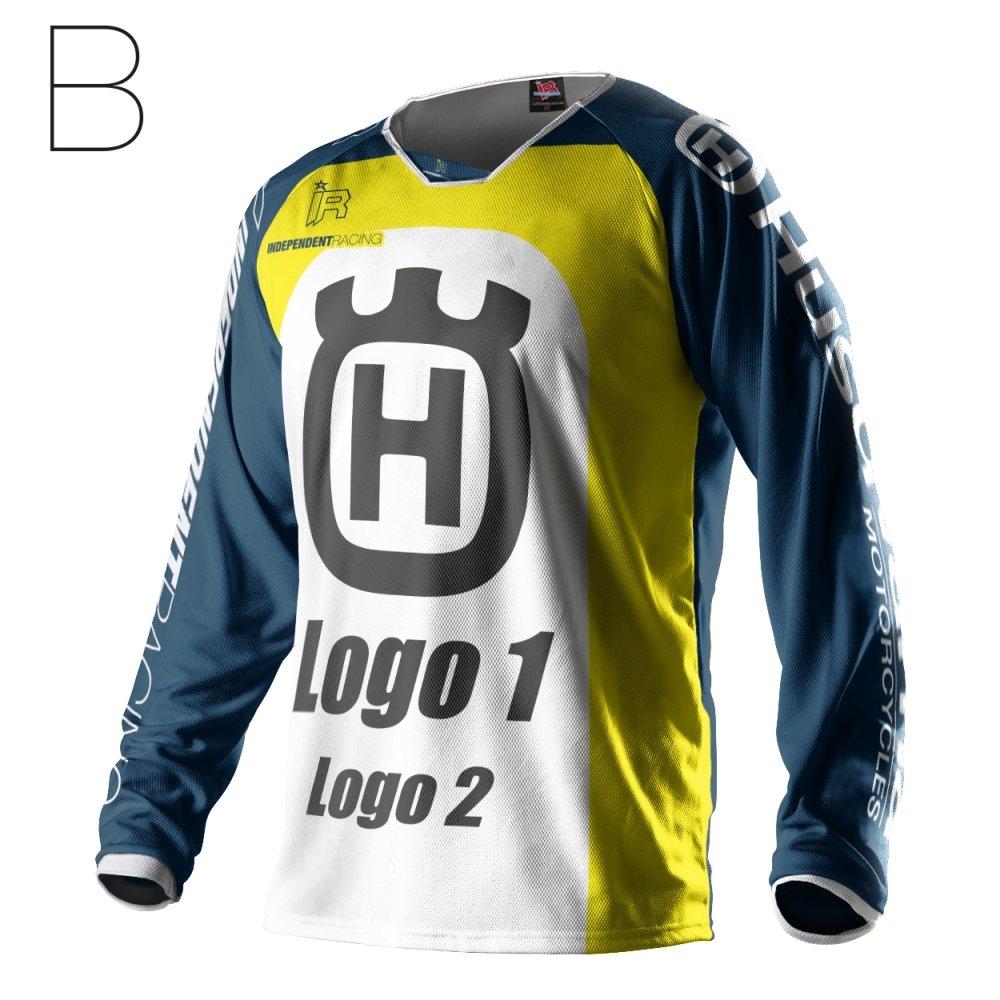 independent racing shop motocross jersey husqvarna works1. Black Bedroom Furniture Sets. Home Design Ideas