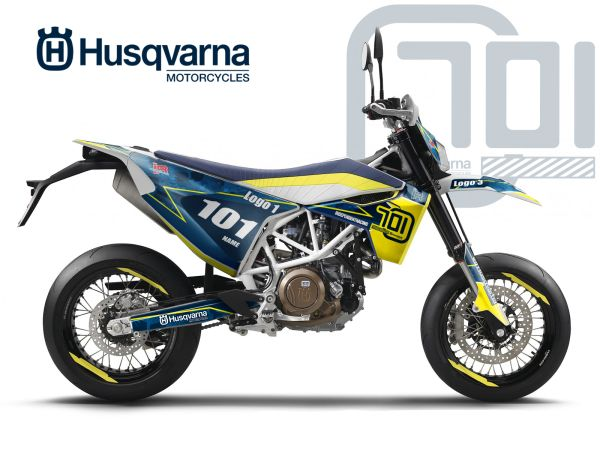 HUSQVARNA 701 DECALS