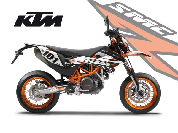 KTM SMC-R DECALS