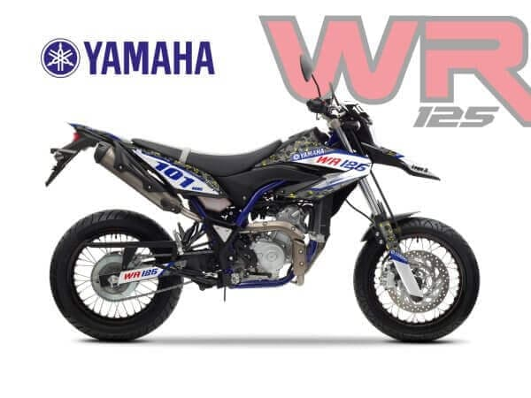YAMAHA WR125 DECALS