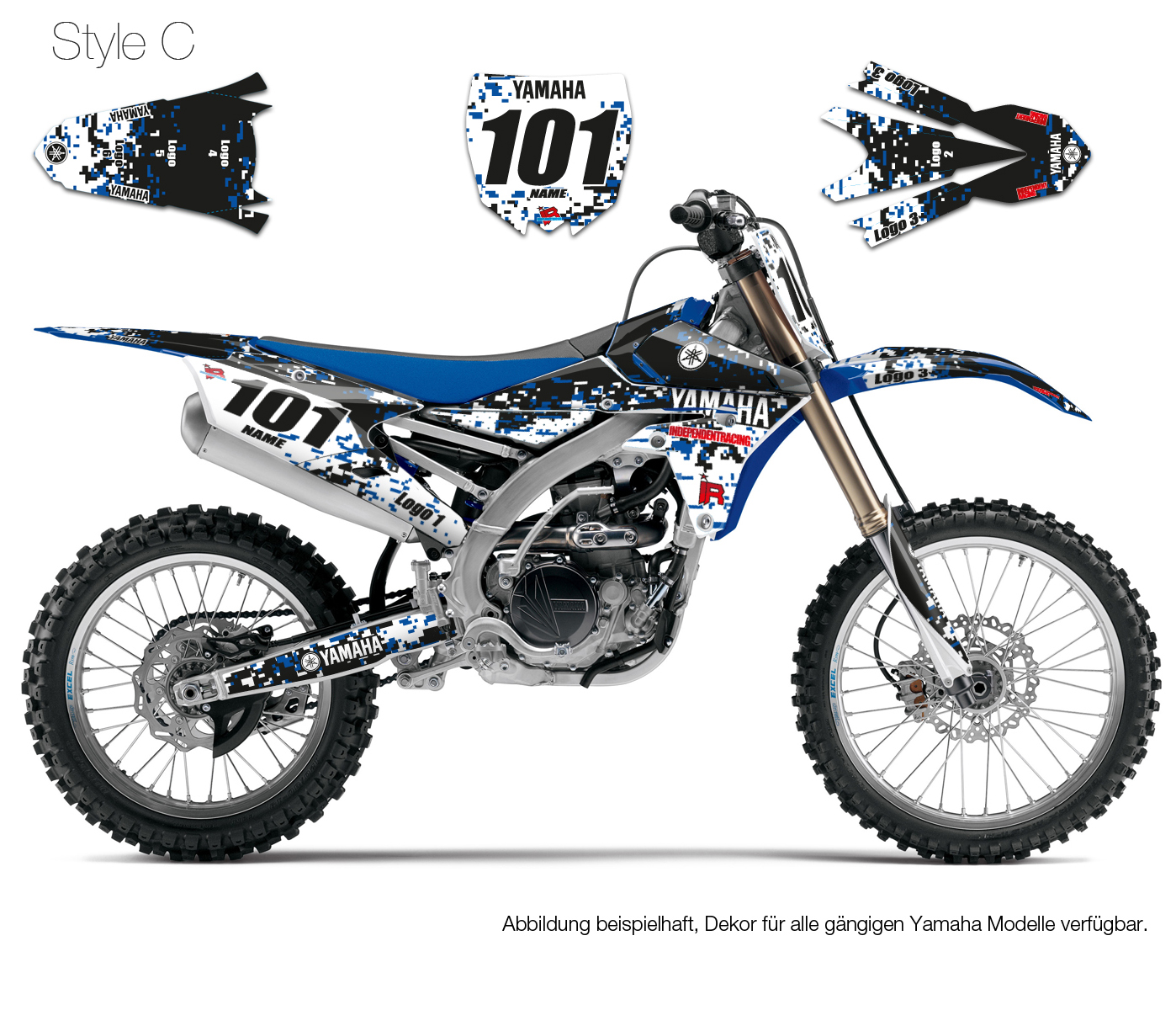Dekor Yamaha Stock3